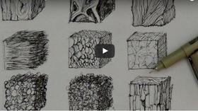 3 Tutoriels Pour Savoir Dessiner Des Textures Dessin Land