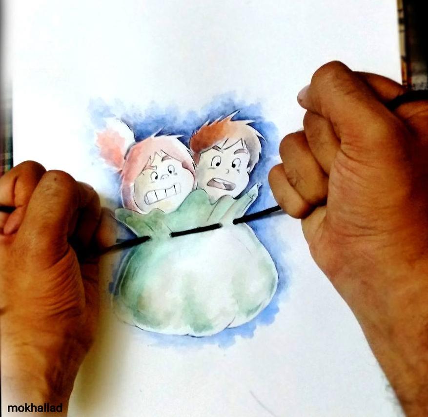 Mokhallad Habit et ses dessins