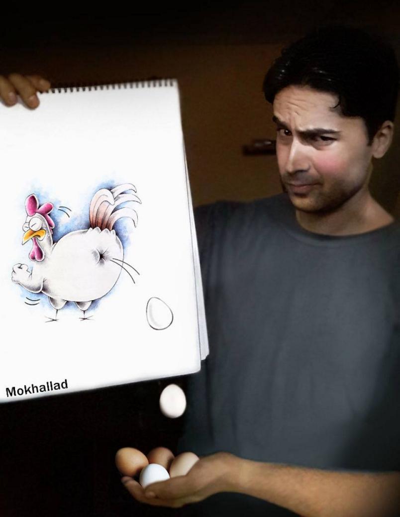 La poule de Mokhallad Habit