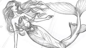 Comment dessiner une sirène facilement.